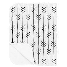 Flannel Changing Pad - One Direction Black