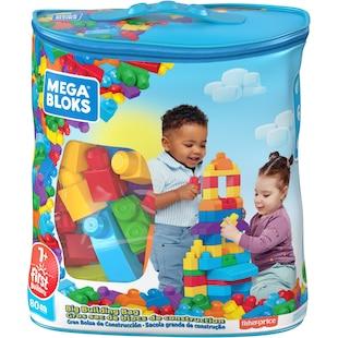 Mega Bloks First Builders - Classic Big Building Bag 80 Pieces