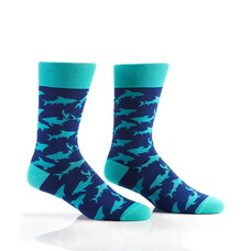 MEN'S SHARK ATTACK CREW SOCKS