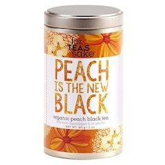 FOR TEAS SAKE ® Peach Is the New Black Tea – Large