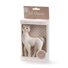 LIL' LLAMA TEETHING TOY NATURAL RUBBER