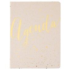 2020 Hardcover Agenda Blush Gold Speckle Design Planner
