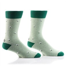 YO SOX MEN'S CREW SOCKS - GOLF