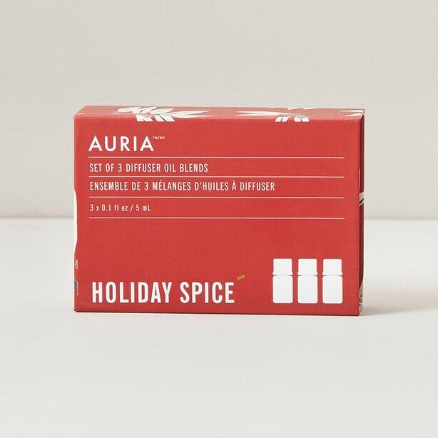 Auria Citrus Spice Essential Oil Gift Set of 3