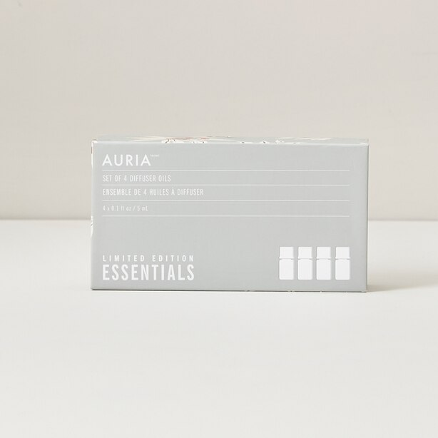 Auria Limited Edition Holiday Essential Oil Gift Set of 4