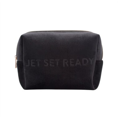 Vixen Jetsetready Large Cosmetic Pouch - Black
