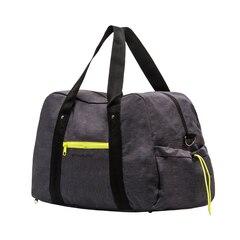 Exhale Gym Bag - Grey & Lime