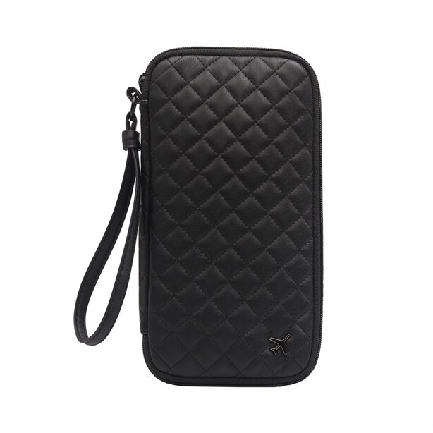 AMY QUILTED JOURNEY DOCUMENT HOLDER