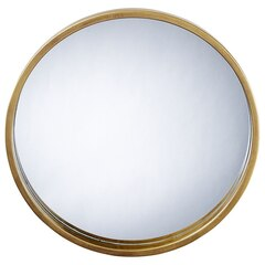 Oman Round Brass Mirror – Medium