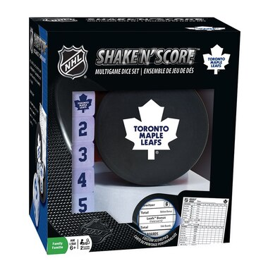 TORONTO MAPLE LEAFS SHAKE & SCORE DICE GAME
