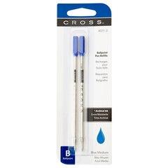 A.T. Cross Medium Standard Pen Refills - Blue