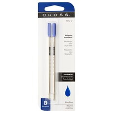 A.T. Cross Fine Standard Pen Refills Blue