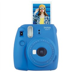 Fujifilm Instax Mini 9 Camera - Cobalt Blue