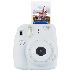 Fujifilm Instax Mini 9 Camera - Smoky White