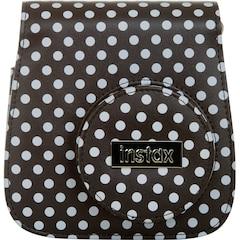 FUJFIILM Instax Mini 9 Groovy Case – Black/White Polka Dot