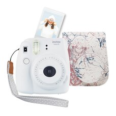 FUJIFILM INSTAX MINI 9 BUNDLE - MARBLE
