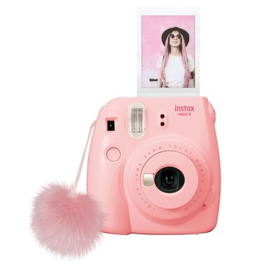 Fujifilm Instax Mini 9 Camera   Seashell Pink by Fuji Film