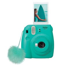 FUJIFILM INSTAX MINI 9 CAMERA - SURF BLUE