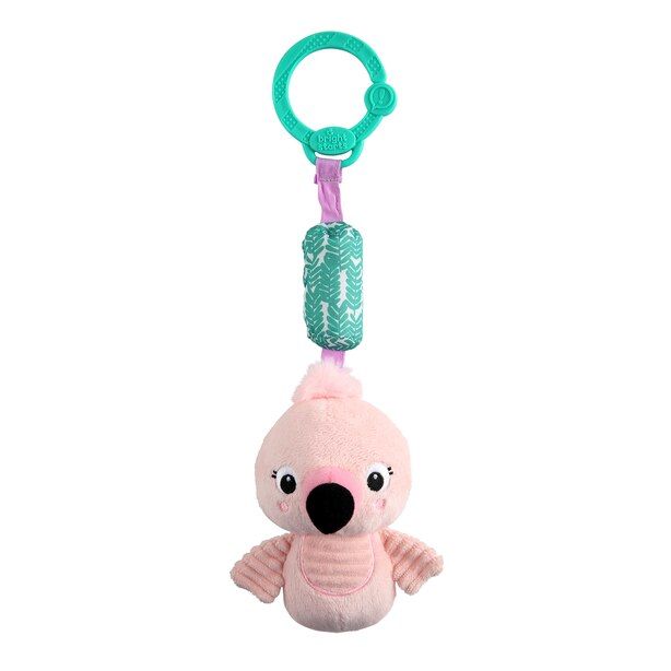 Bright Starts Chime Along Friends On-the-Go - Flamingo