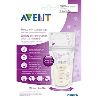Philips AVENT - Breast Milk Storage Bags, 25ct