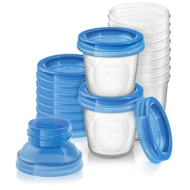 Philips AVENT - Breast Milk Storage Cups (10 x 180mL / 6oz)