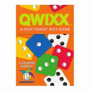 Qwixx: un jeu de dés familial rapide
