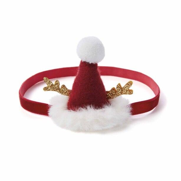 Elegant Baby Headband Christmas Hat