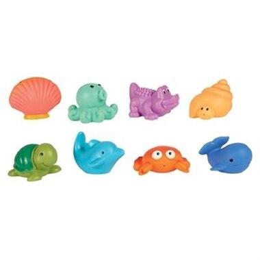 Jouets pour le bain animaux de la mer de elegant baby for Article pour le bain