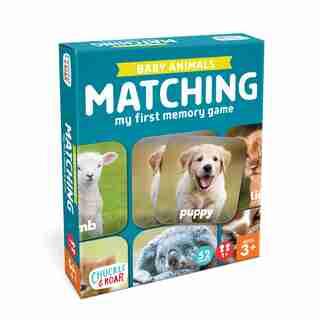 C&R Baby Animals Matching Game