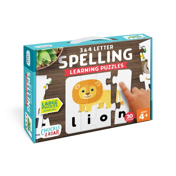 C&R Spelling Matching Puzzle