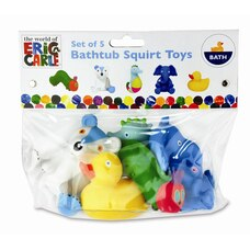 World of Eric Carle Bath Squirt Toys