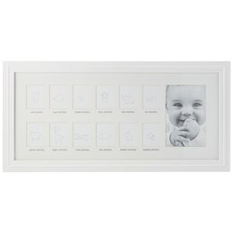 1st Year Frame - White by C.R. GIBSON