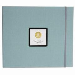 Journal photo KINSHO – 9 x 10,5 po, bleu gris