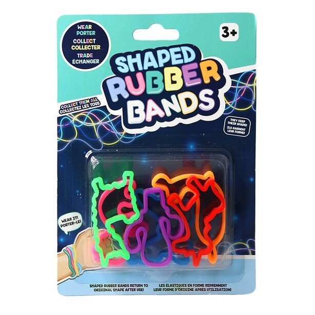 Shaped Rubber Bands Trending Theme