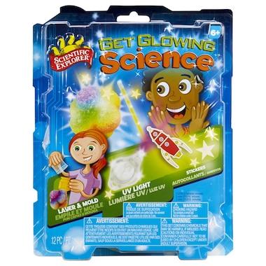 Scientific Explorer Get glowing Science