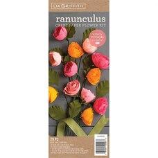 RANUNCULUS CREPE PAPER FLOWER KIT