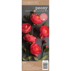 PEONY CREPE PAPER FLOWER KIT