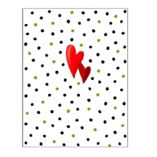 Papyrus Valentine's Day Card (Dots)