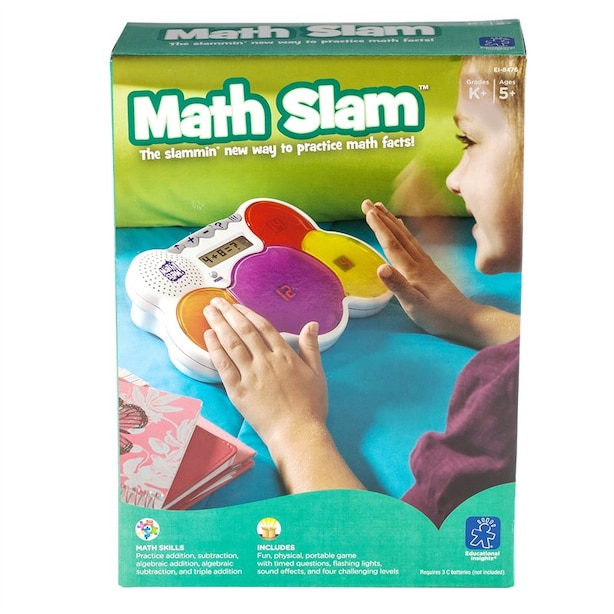 MATH SLAM by Educational Insights | Toys | www.chapters ...