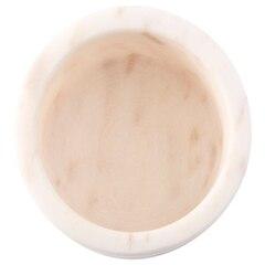 White Marble Salt & Pepper Bowl