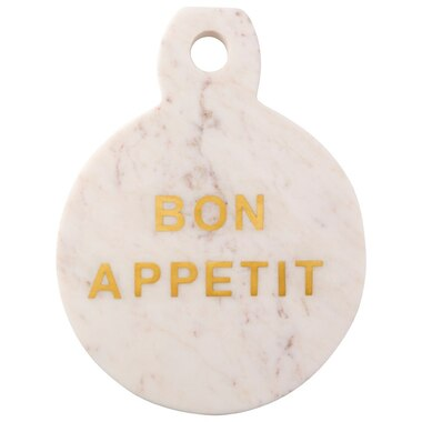 Round Marble Board – Bon Appetit
