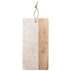 Long Half-Marble Half-Wood Board