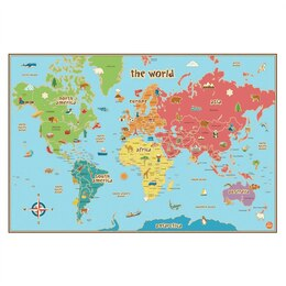 World Kid's Map