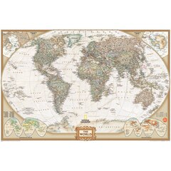 National Geographic World Map Decal