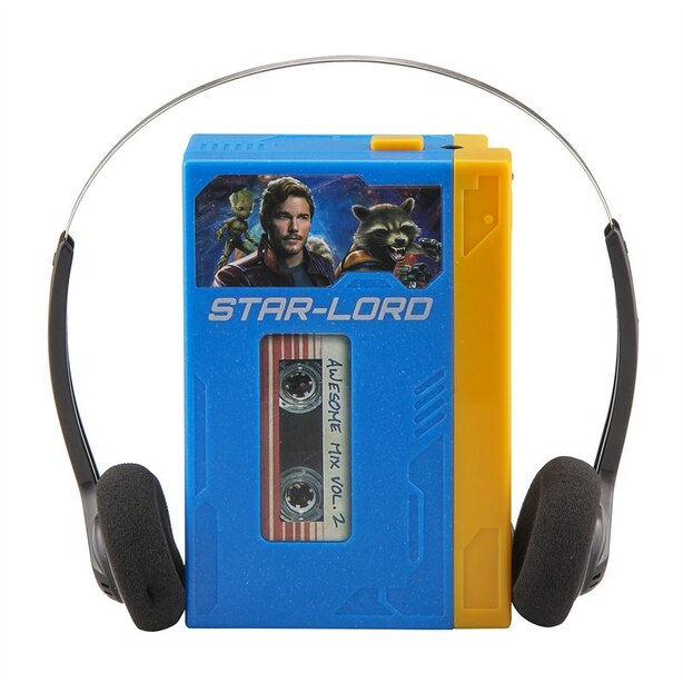 Guardians of the Galaxy Vol. 2 Mini MP3 Boombox with Voice Recording
