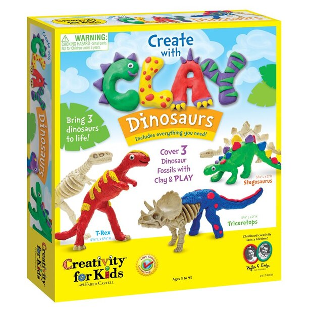 Creativity for Kids® Create with Clay Dinosaurs