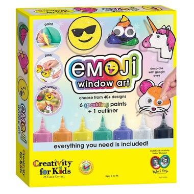 Creativity for Kids® Emoji Window Art