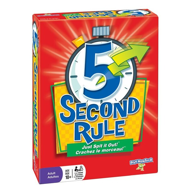 Outset® 5 Second Rule Bilingual