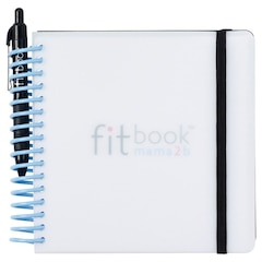 fitbook mama2b: 40-week pregnancy journal