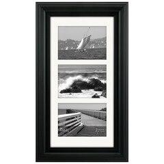 Malden® Portrait Gallery Frame - 5x7 Triple Opening